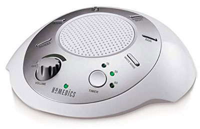 4. HoMedics SS-2000G/F-AMZ Silver Spa Sound Machine
