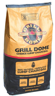 6. Grill Dome Choice Lump Charcoal (CCL-20)
