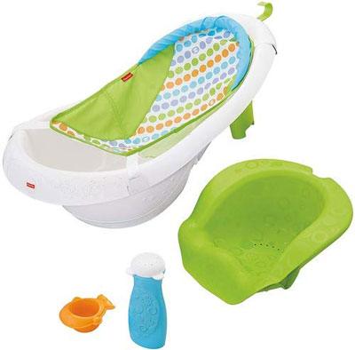 5. Baby Bathing Tubs & Seats 4-in-1 Fisher Tub