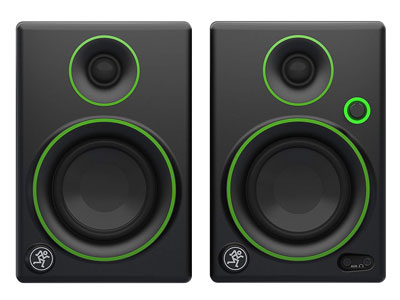 6. Mackie Studio Monitor w/Green Trim (CR3)