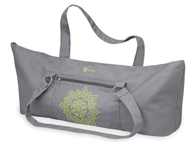 7. Gaiam Tote Yoga Mat Bag