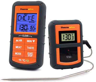 2. ThermoPro TP-07 Wireless Digital Meat Thermometer