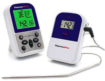 10. ThermoPro TP11 Wireless Digital Meat Thermometer