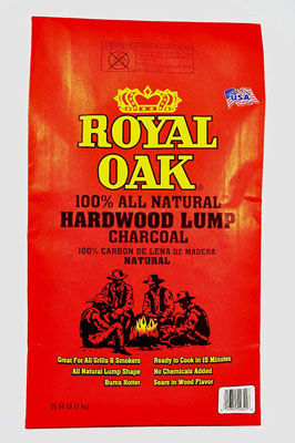 5. Royal Oak 195228021 Lump Charcoal – 15.4 lb