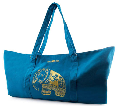 8. Peace Yoga Tote Mat Bag