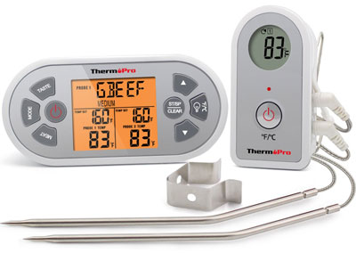 9. ThermoPro TP22 Digital Wireless Meat Thermometer