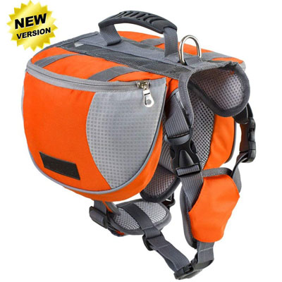 4. Lifeunion Dog Supply Backpack Saddle Bag