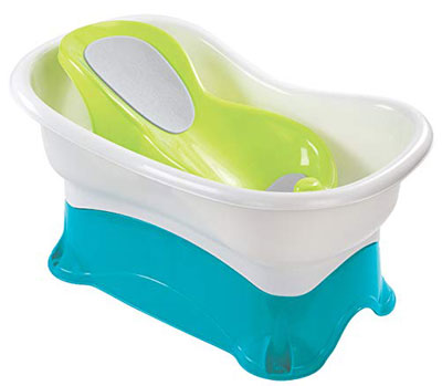 7. Summer Infant Height Comfort Bath Tub