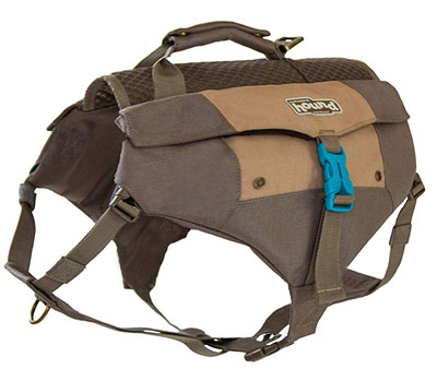 8. Outward Hound Denver Urban Hiking Backpack for Dogs