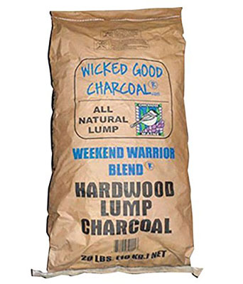 8. Charcoal Lump Bag 20 Pound