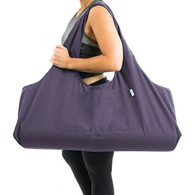 6. Yogiii Large Tote Sling Yoga Bag