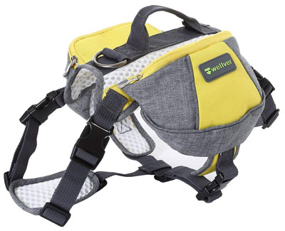 9. Wellver Dog Backpack Saddle Bag