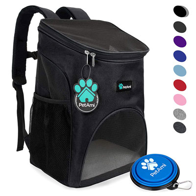 4. PetAmi Premium Pet Carrier Backpack