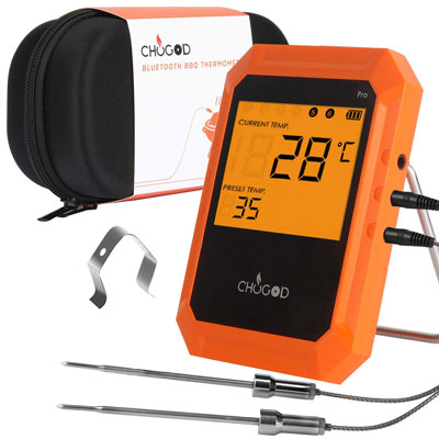 5. Uvistare BBQ Meat Thermometer for Smoker Grilling