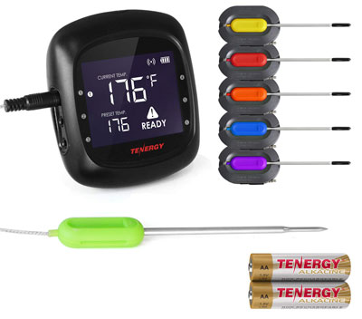 4. Tenergy Solis Digital Meat Thermometer