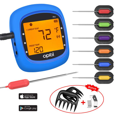 7. Oprol Bluetooth Meat Thermometer