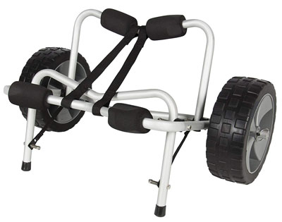5. Best Choice Products Aluminum Dolly Cart Transport Carrier