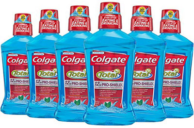 10. Colgate Peppermint Pro-Shield Mouthwash