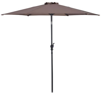 3. Giantex 10ft Solar Patio Umbrella