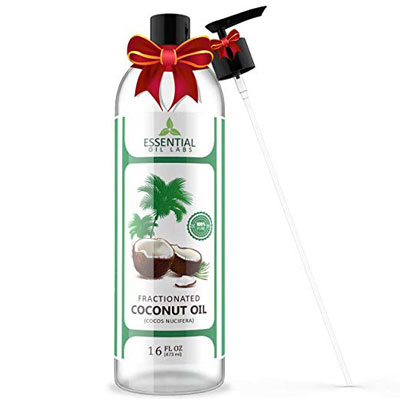 6. Essential Oil Labs Fractionated Coconut Carrier Oil