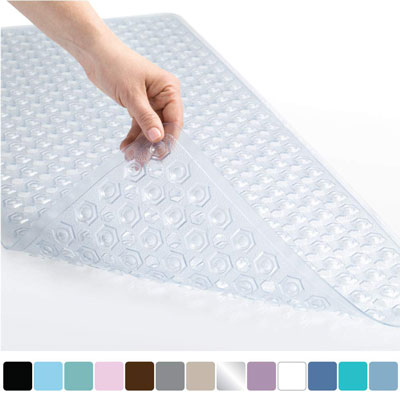 1. Gorilla Grip Patented Original Non-Slip Shower Mat