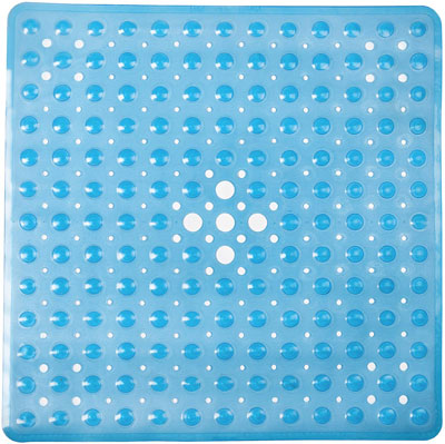 5. FeschDesign Anti-Bacterial Non-Toxic Shower Mat