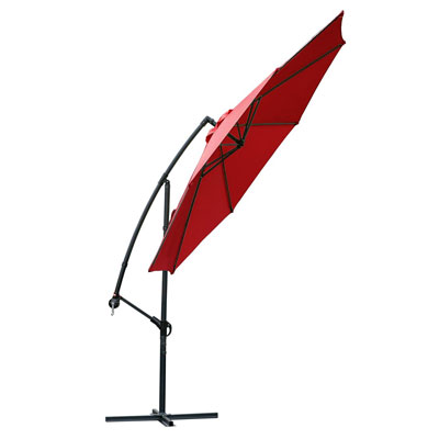 6. FARLAND 10 ft Offset Cantilever Patio Umbrella
