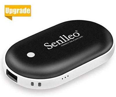 3. Senlleo Rechargeable Doubled Side Hand Warmer