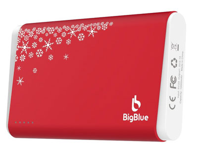 8. BigBlue 3-in-1 Rechargeable Portable Hand Warmer