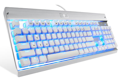 4. EagleTec KG011 USB Wired Mechanical Keyboard