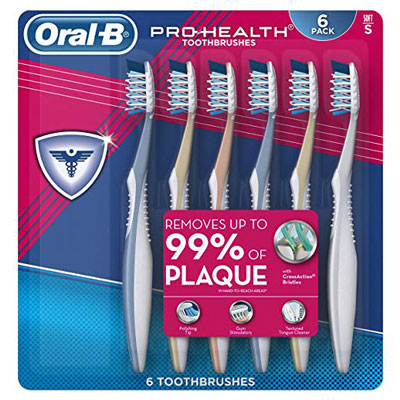 9. Oral-B All-In-One Pro Health Soft Toothbrush