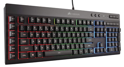 5. Corsair K55 RGB Gaming Keyboard