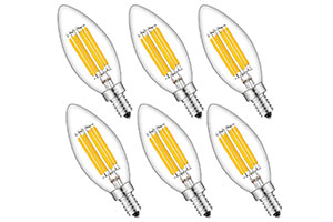 Photo of Top 10 Best LED Candelabra Bulbs in 2020 Reviews