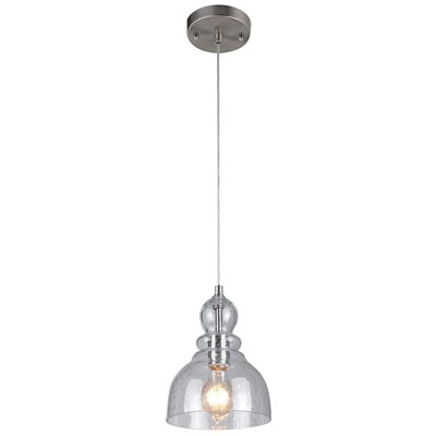 3. Westinghouse 6100700 One-Light Indoor Mini Pendant
