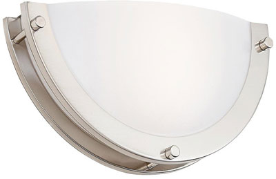 8. Cloudy Bay HM1212830BN 12-inch Dimmable LED Wall Sconces