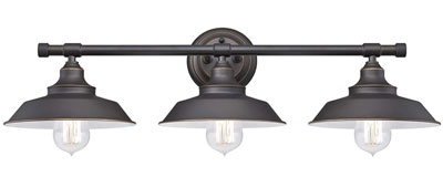 6. Westinghouse 6343400 Three-Light Indoor Wall Fixture
