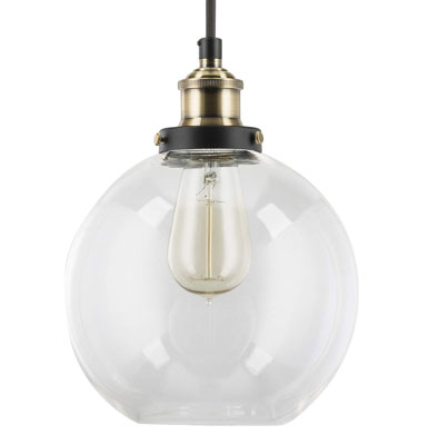 6. Linea di Liara Industrial Kitchen Pendant Light