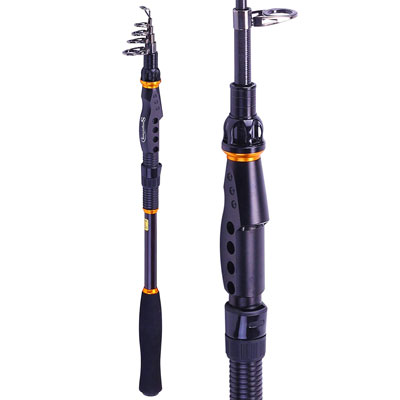 2. Sougayilang Telescopic Ultralight Fishing Rod