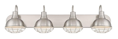 "9. Kira Home 36"" 4-Light Vanity/Bathroom Light"