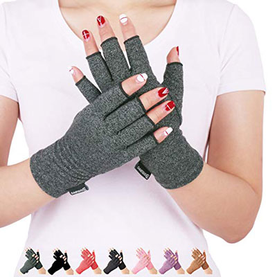 2. DISUPPO Arthritis Compression Gloves