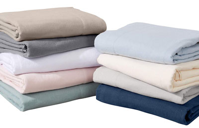 6. Great Bay Turkish Extra Soft Flannel Sheets Set