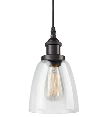 7. CLAXY Ecopower Industrial Mini Pendant Light Fixture