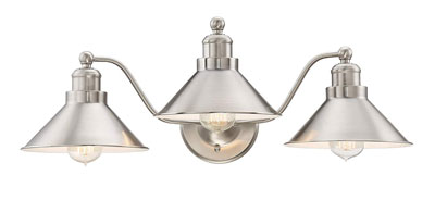 "10. Kira Home 25.5"" 3-Light Vanity/Bathroom Light"