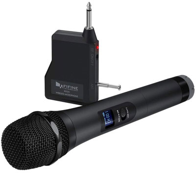 2. Fifine Technology Handheld Wireless Microphone
