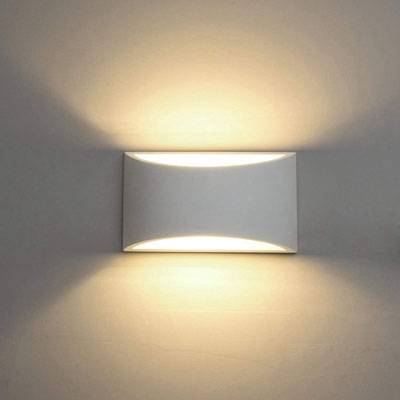 10. ChangM 7W Modern LED Wall Sconce Lighting Fixture