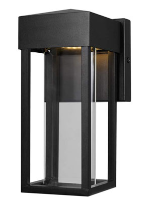 4. Globe Electric LED Outdoor Indoor Wall Sconce