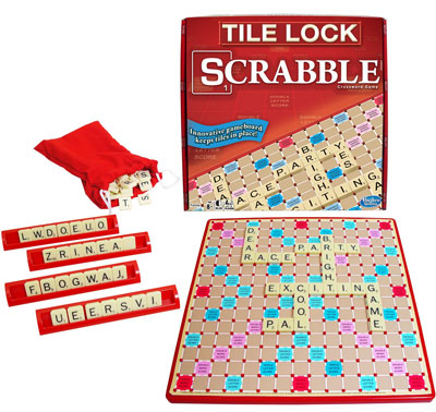 1. Winning Moves Games Scrabble Lock Board