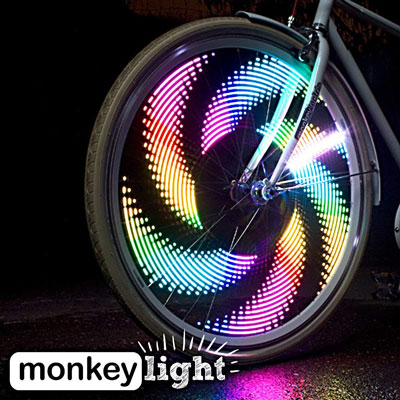 10. MonkeyLectric M232 Wheel Light