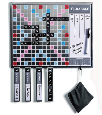 9. Winning Solutions 2-in-1 Scrabble Board