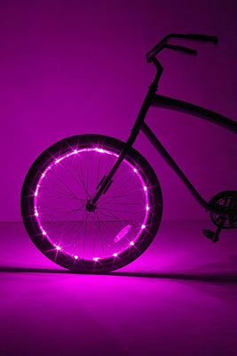 6. Brightz LED Wheel Bike Light